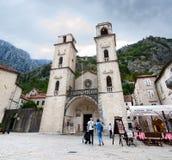 Catedral de St Tryphon, Kotor, Montenegro Imagen de archivo