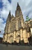 Catedral de St.Vitus - Praga Imagen de archivo libre de regalías