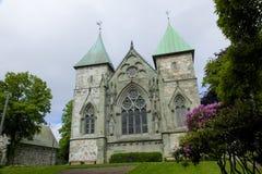 Catedral 025 de Stavanger Foto de Stock
