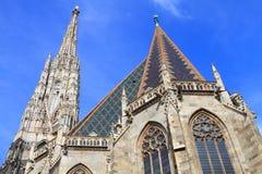 Catedral de Stephenâs de Saint Imagem de Stock Royalty Free