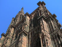 Catedral de Strasbourg Fotografia de Stock