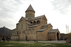 Catedral de Svetitskhoveli em Mtskheta Foto de Stock Royalty Free