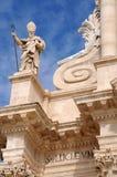 Catedral de Syracuse Fotografía de archivo
