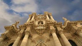 CATEDRAL de SYRACUSE (Siracusa, Sarausa)-- ciudad histórica en Sicilia, Italia