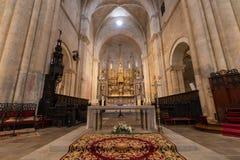 Catedral de Tarragona, em Catalonia fotografia de stock royalty free