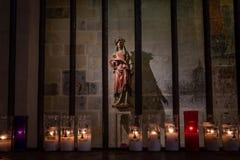Catedral de Tarragona, em Catalonia foto de stock royalty free