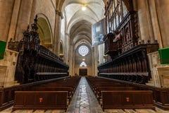 Catedral de Tarragona, em Catalonia fotos de stock