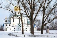 Catedral de Theodor no inverno Imagem de Stock Royalty Free
