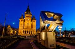 Catedral de Timisoara Foto de Stock