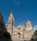 Catedral de Toledo imagens de stock