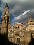 Catedral de Toledo Fotografía de archivo