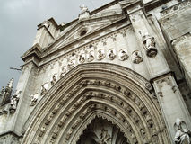 Catedral de Toledo Imagem de Stock