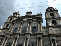 Catedral de toluca. Cathedral at toluca city & x28;mexico& x29; architecture XIX century stock images