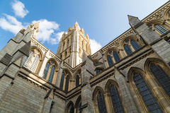 Catedral de Truro em Cornualha Reino Unido Inglaterra imagem de stock royalty free