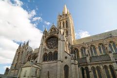 Catedral de Truro em Cornualha Reino Unido Inglaterra fotos de stock