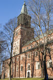 Catedral de Turku Fotos de archivo