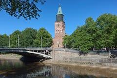 Catedral de Turku, Finlandia Fotografía de archivo libre de regalías