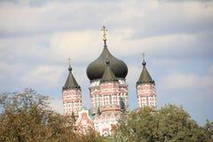 Catedral 2018 de Ucrânia Kiev Kyiv StPanteleimon fotografia de stock