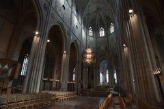 Catedral de Uppsala fotos de archivo libres de regalías