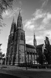 Catedral de Uppsala Fotografía de archivo