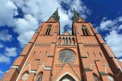Catedral de Uppsala Fotos de archivo
