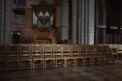 Catedral de Upsália imagens de stock