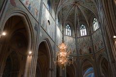 Catedral de Upsália foto de stock royalty free