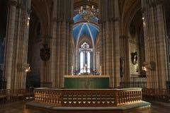 Catedral de Upsália fotos de stock royalty free