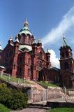 Catedral de Uspenski Imagenes de archivo