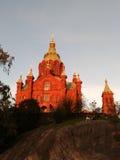 Catedral de Uspenski Imágenes de archivo libres de regalías