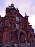Catedral de Uspenski en Helsinki Foto de archivo libre de regalías
