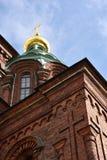 Catedral de Uspenski, Helsinki fotografía de archivo libre de regalías