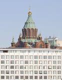 Catedral de Uspenski, Helsinki Foto de archivo