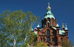 Catedral de Uspenskin, Helsínquia Fotografia de Stock