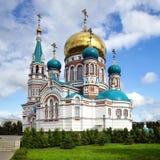 Catedral de Uspenskiy imagens de stock
