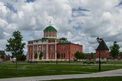 Catedral de Uspensky y la torre de Tula Kremlin Fotografía de archivo