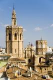 Catedral de Valencia Fotos de archivo libres de regalías