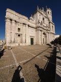 Catedral de Valladolid Imágenes de archivo libres de regalías