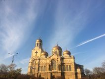 Catedral de Varna fotografía de archivo