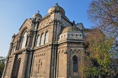 Catedral de Varna Foto de archivo libre de regalías