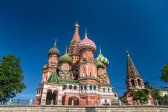 Catedral de Vasily Blessed imagem de stock