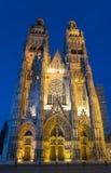 Catedral de viajes Imágenes de archivo libres de regalías