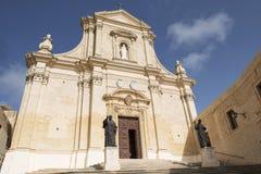 Catedral de Victoria Citadel fotos de archivo libres de regalías