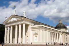 Catedral de Vilnius Fotos de Stock Royalty Free