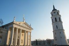Catedral de Vilnius imagens de stock