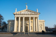 Catedral de Vilnius fotografia de stock