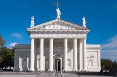Catedral de Vilnius, Lituania Imagen de archivo libre de regalías