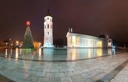 Catedral de Vilnius. Lituania, Europa. Imagenes de archivo