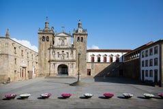 Catedral de Viseu imagen de archivo libre de regalías