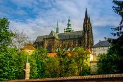 A catedral de Vitus de Saint Fotografia de Stock Royalty Free